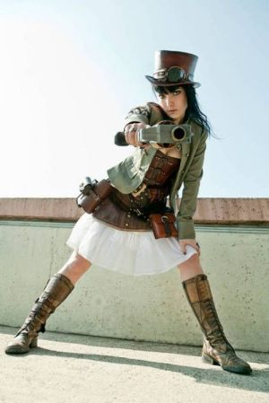 sexy-steampunk-girl