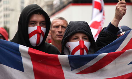 The English Defence League (Credit: KeystoneUSA)