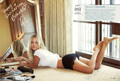 Kaley Cuoco in Esquire