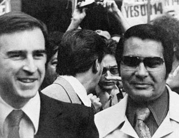 Jerry Brown with Jim Jones